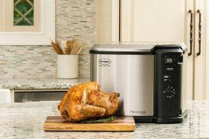 Butterball Electric Turkey Fryer 10L Analog w/Timer, 10 L