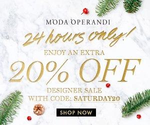 Extra 20% off + Up to 80% OffSale items @ Moda Operandi