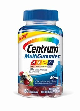 Centrum Men MultiGummies Supplement (150 Count)