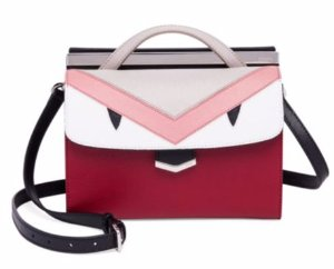 30% Off with Fendi DemiJour Small Leather Monster Satchel @ Saks Fifth Avenue