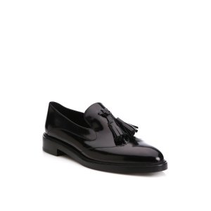 Halsmoor Patent Leather Tassel Loafers by Burberry