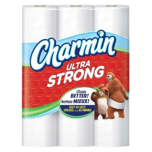 Charmin® Ultra Strong™ Toilet Paper 24 Double Plus Rolls : Target
