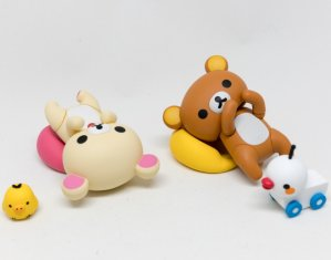 From $17.50 Rilakkuma & Korilakkuma PVC Figures @ Amazon Japan