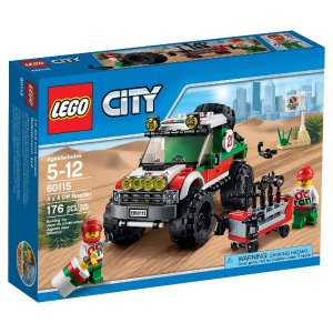 $12.39 LEGO City 4x4 Off Roader 60115