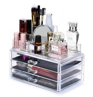 $12.74 Sodynee® Acrylic Makeup organizer Cosmetic organizer Jewelry and Cosmetic Storage Display Boxes