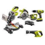18-Volt ONE+ Lithium-Ion Super Combo Kit (5-Piece)