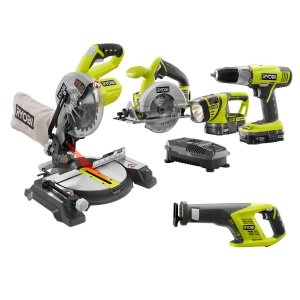 $199.0018-Volt ONE+ Lithium-Ion Super Combo Kit (5-Piece)