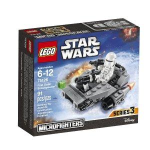 史低!乐高LEGO Star Wars星球大战系列First Order  雪地飞车75126