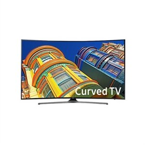 $599.99 + $150 eGift Card Samsung 49 Inch Curved 4K Ultra HD Smart TV