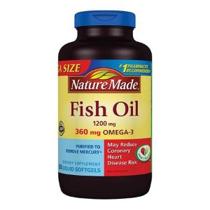 Nature Made Fish Oil 1200 mg Dietary Supplement Liquid Softgels | Walgreens