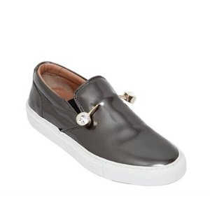COLIAC 20MM VERONICA PIERCING LEATHER SNEAKERS