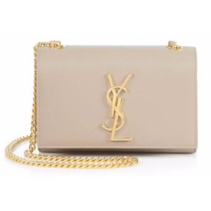 Saint Laurent Saint Laurent Monogram Small Leather Chain Bag