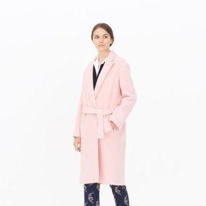 Morrison Coat - The Coat Shop - Sandro-paris.com