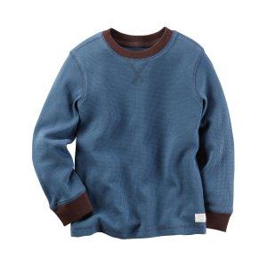 Kid Boy Long-Sleeve Thermal Tee | Carters.com