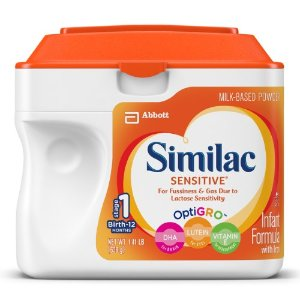 Similac Sensitive Infant Formula with Iron, Powder (Pack of 6) | Jet.com