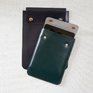 Leather Tech Sleeve | west elm