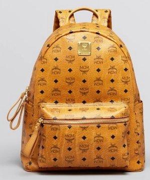 $290(Org. $790)63% Off MCM Visetos Medium Stark Backpack @ Bloomingdales