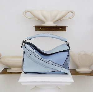 Dealmoon Exclusive! 10% OffLoewe Puzzle Bicolor Leather Bag @ Luisaviaroma