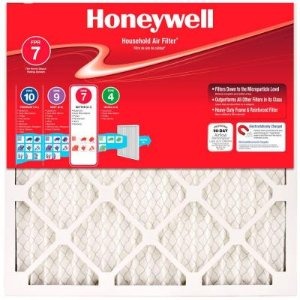 $19.994-Pack Honeywell Allergen Plus Pleated FPR 7 Air Filters