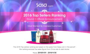 2016 Top SellersProducts Sale @ Sasa.com