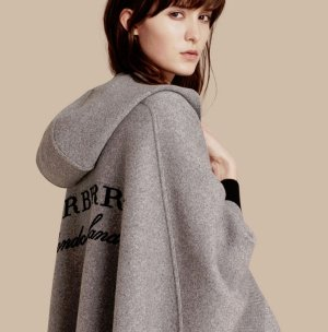 Earn Up to a $700 Gift Card Burberry Hooded Poncho Purchase @ Saks Fifth Avenue