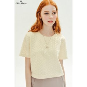 Snowflake Top (White) - Miss Patina - Vintage Inspired Fashion
