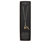 The Giving Keys 'Love' 27-Inch Lock & Key Lariat Necklace