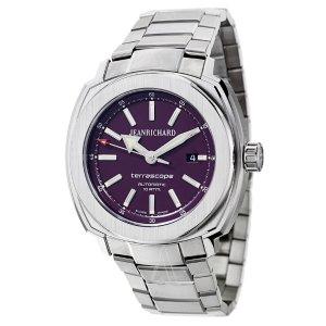 JeanRichard Men's Terrascope Watch 60500-11-D01-11A