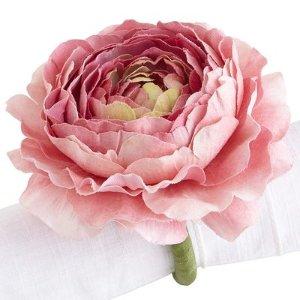 Ranunculus Flower Napkin Ring | Pier 1 Imports