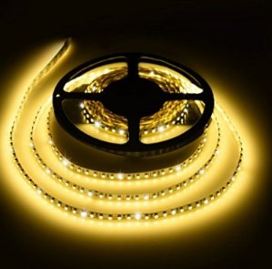 Ledgle 16.4ft LED Light Strip, 600LEDs SMD3528 LED Strip Lights,Non-waterproof LED Strip Lighting