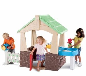 $125.99 Little Tikes Deluxe Home and Garden Playhouse