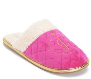 $27.6 Women's Slippers CUPCAKE On Sale @ Juicy Couture Dealmoon Exclusive!