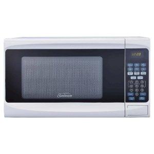 Sunbeam 0.7 Cu. Ft. Digital Microwave Oven, white