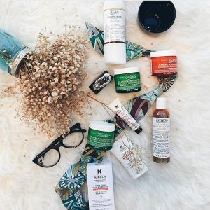 Receive 3 Deluxe Samples + 3 Extra Free Samples With Any $50 Purchase @ Kiehl's