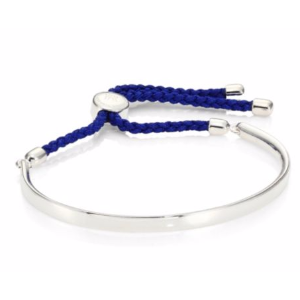 Monica Vinader - Fiji Sterling Silver Friendship Bracelet/Royal Blue - saks.com