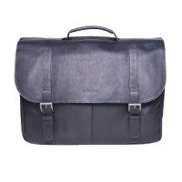 $72.55 Samsonite Colombian Leather Flap-Over Laptop Messenger Bag