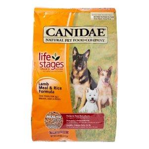 Canidae Life Stages 羊肉和饭配方 干狗粮 30磅