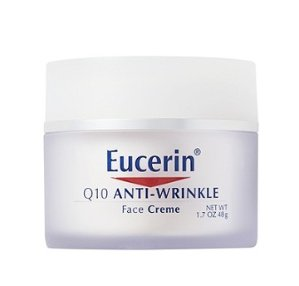 $5.5 Eucerin Q10 Anti-Wrinkle Sensitive Skin Creme, 1.7 Ounce