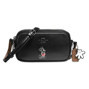 COACH Boxed Mickey Crossbody Pouch in Calf Leather - Handbags & Accessories - Holiday Gift Guide - Macy's