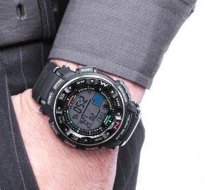 Casio Men's Pro-Trek Tough Solar Digital Sport Watch