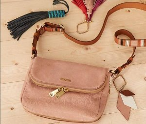 Fossil Preston Small Flap Shoulder Bag