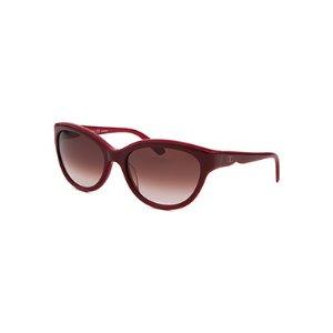 Valentino Women's Cat Eye Burgundy Sunglasses Brown Gradient Lens