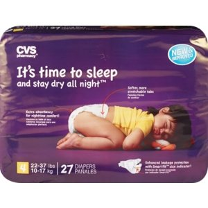 CVS Health Ultra Soft Overnight Diapers - CVS.com