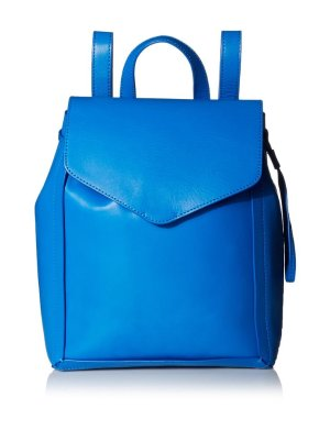 Loeffler Randall Women's Small Drawstring Backpack, Electric Blue