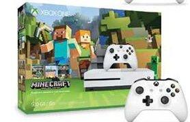 Start!$249 Xbox One S 500GB Minecraft Console Bundle