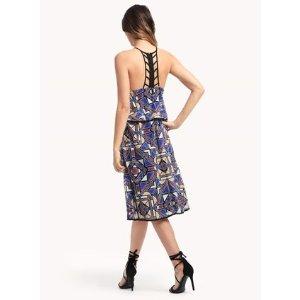 Astra Diamond Tiered Dress