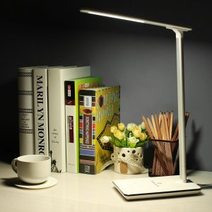 BYB Dimmable LED Desk Lamp Eye-caring Table Lamp