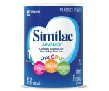 Similac Advance Infant Formula with Iron, Powder, One Month Supply 36 Ounces ( 3 Pack )