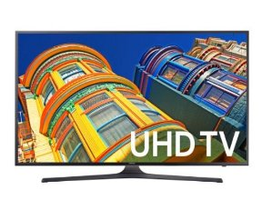 $599.00 Samsung UN60KU6300 60-Inch 4K Ultra HD Smart LED TV