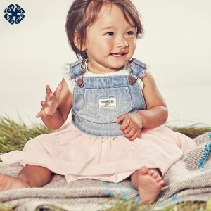 $4.99 and Up + Extra 25% Off Kids and Babies' Apparel Clearance @ OshKosh.com
